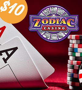 Zodiac Casino $10 No Deposit Bonus  free10nodeposit.com